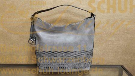 """Ein absolutes """"MUSS"""" in diesem Frühjahr ist diese stylische Hobo-Bag in zartem grau."""