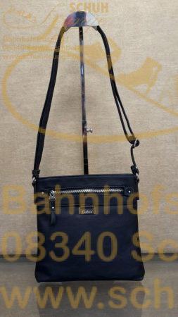 Schlicht in stilvollem Design präsentiert sich diese Gabor-Tasche aus hochwertigem, fein gemasertem Lederimitat.