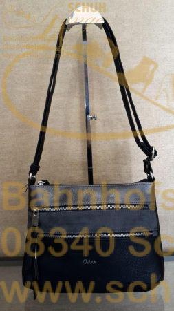 Aus softem Lederimitat ist diese Crossbag in gradliniger, Gabor typischer Formgebung.