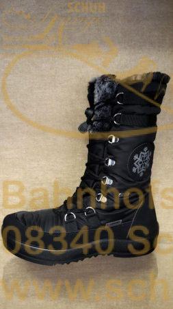 Sportlicher schwarzer Winterstiefel von LACKNER – Dem Schuhspezialisten für Outdoor Schuhe aus Tirol.