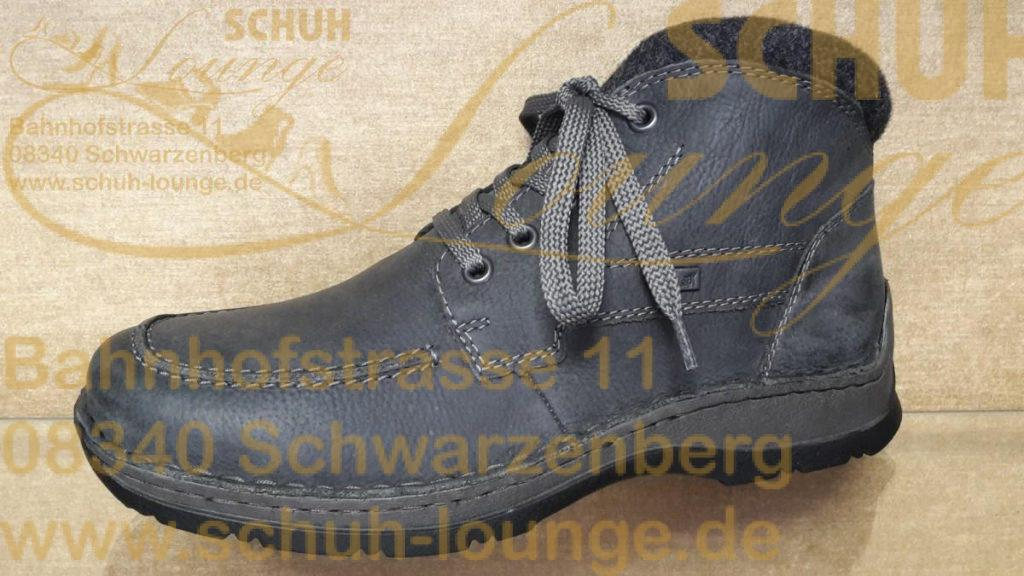 Lässiger, knöchelhoher Sneaker aus beige farbenem Leder mit