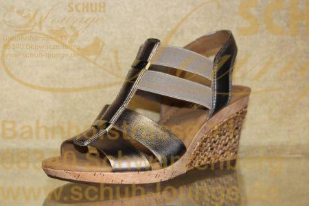 """Das absolute """"Must have"""" für die kommende Saison ist diese edle Keil-Sandalette von Gabor."""