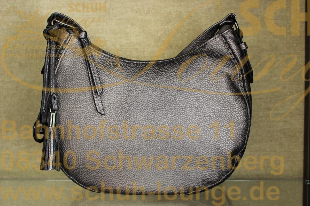 Puristisch in absolut cleanem Design ist diese Hobo-Bag aus dem Hause Gabor.