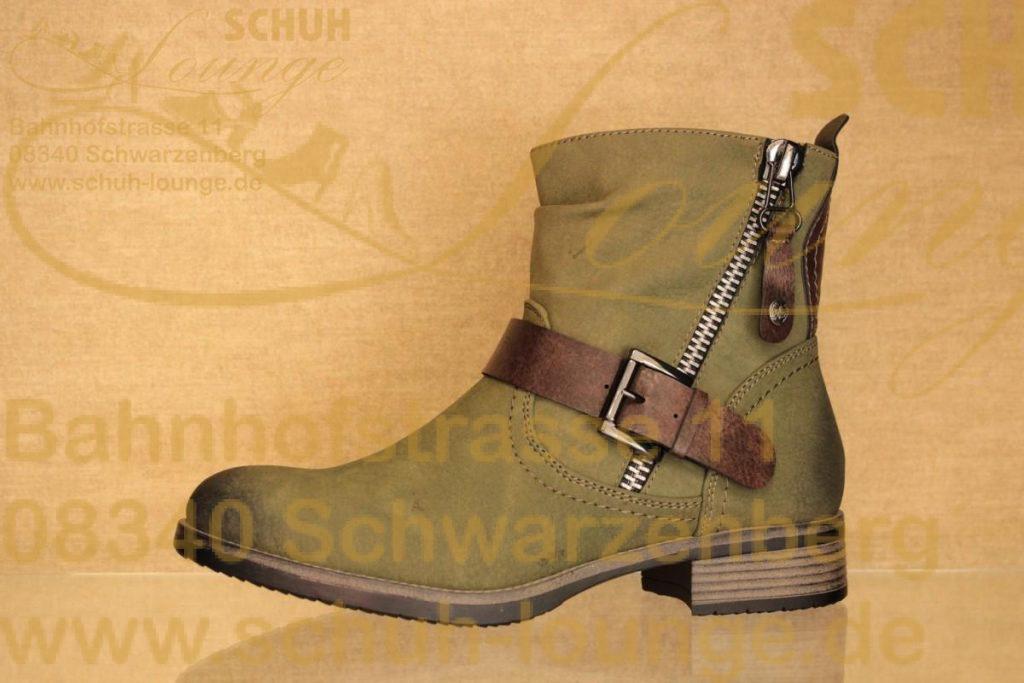 Rieker Schuhe schwarz Kunstleder Tex Membrane Lammwolle